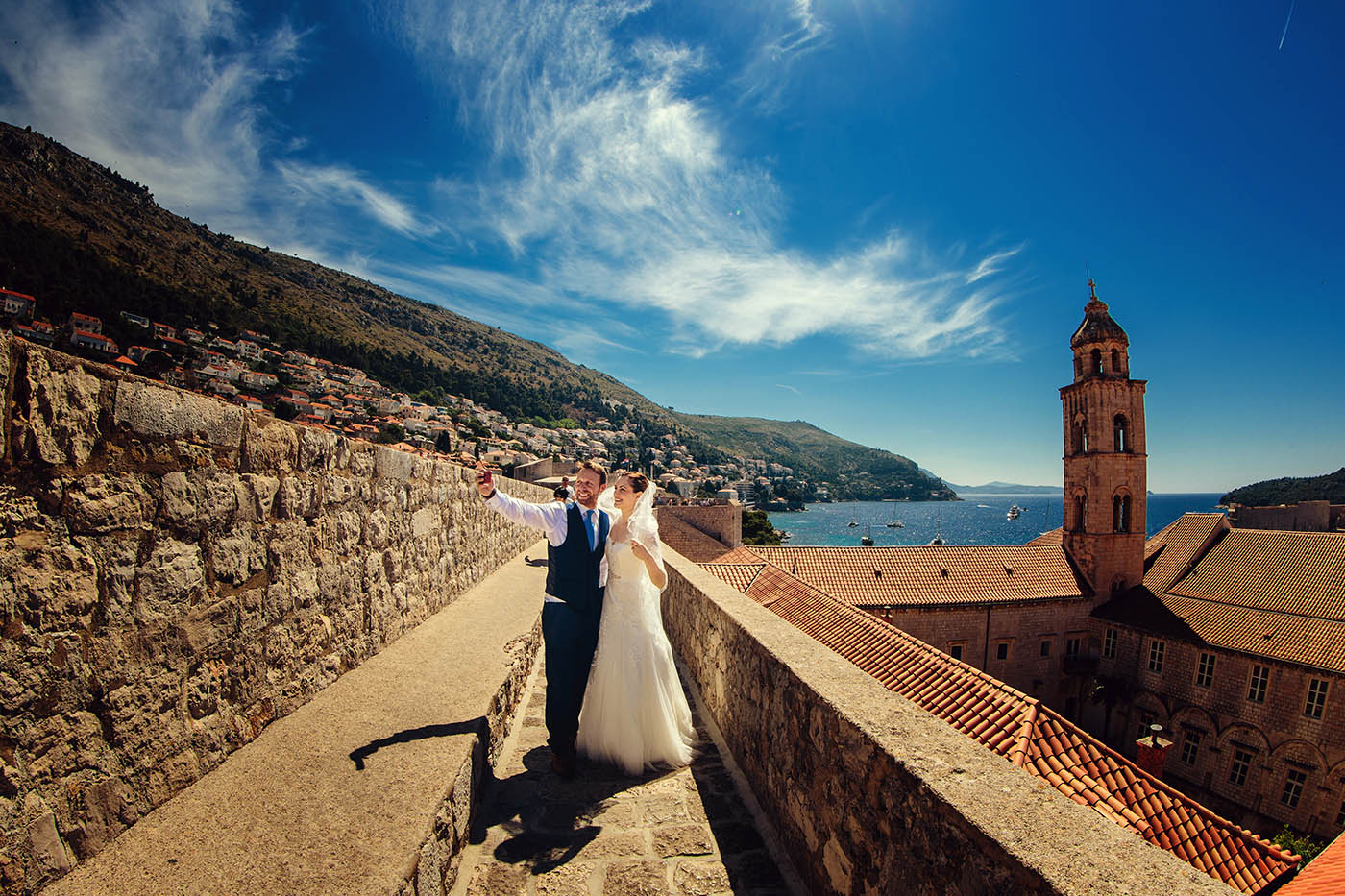 Mela & Nic's wedding in Dubrovnik Croatia